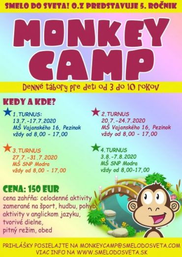 MONKEY CAMP 2020